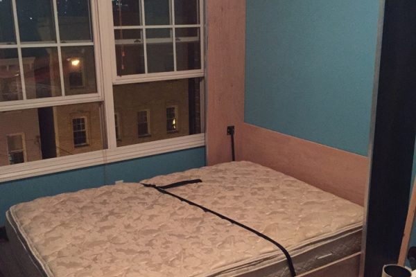 Conplete Wall Bed Project With Mattress