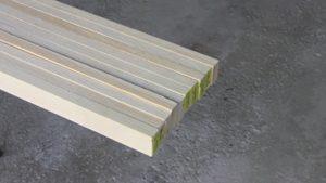 1x2 solid pine for frame struts