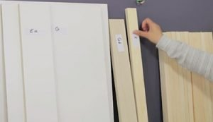 build-murphy-bed-labeling-wood-parts