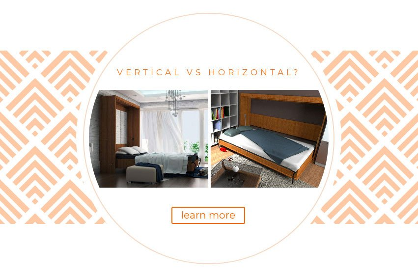 Vertical vs Horizontal Murphy Bed Kit