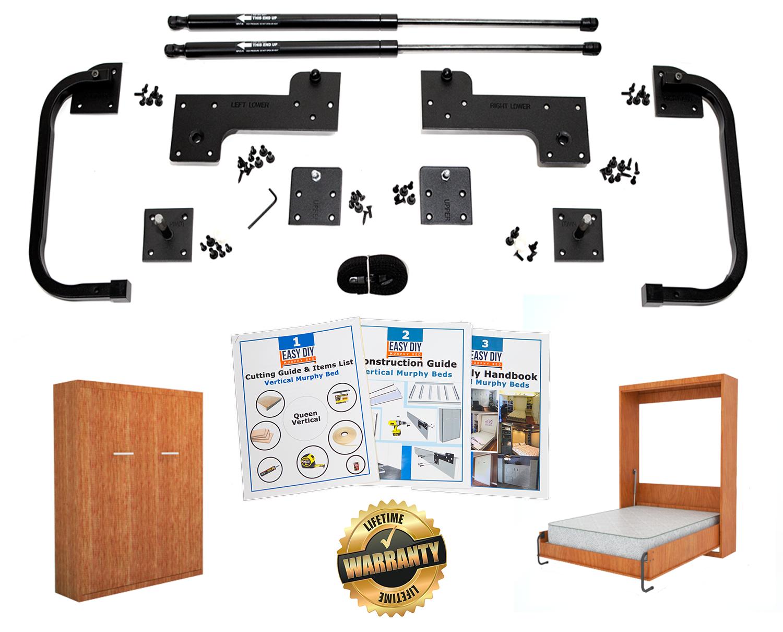 Picture of: Vertical Queen Size Kit Easy Diy Murphy Bed