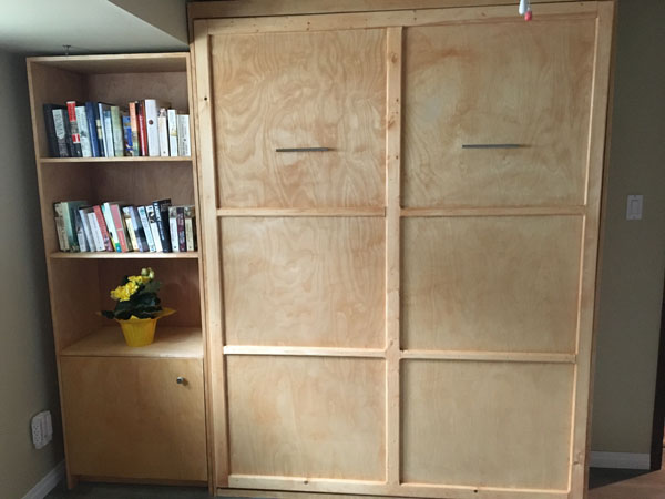 Murphy bed with molding ideas