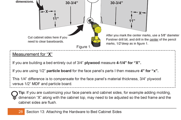 molding setup page 28
