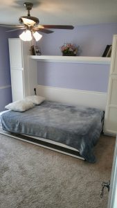 DIY murpphy bed project by Donald