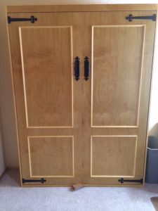 Gerrys finished customs bed cabinet