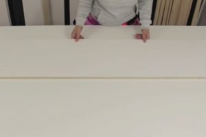 wall bed cabinet top step 1