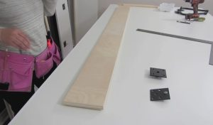wall bed mechanism installation