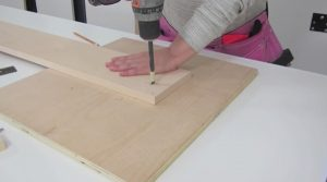 attaching legs to wall bed step 2