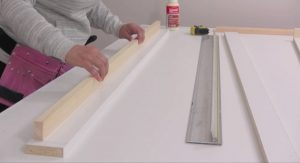 murphy bed stopper construction