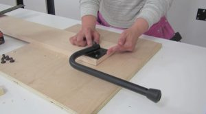 leg mechanism for wall bed step 5