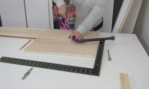leg mechanism for wall bed step 6