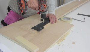 murphy bed mechanism mounting