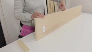 applying edging tape step 2