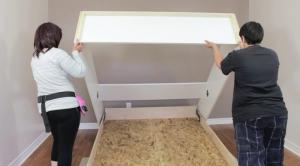 installing a Murphy bed