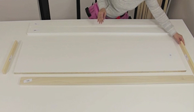 cabinet top for wall bed