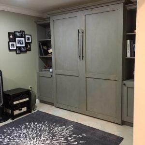 loft bed diy cabinet bed