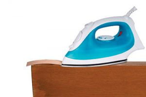 household iron for edging parts