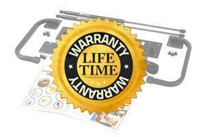 Lifetime warranty online wall bed hardware kits