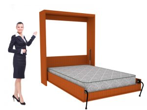 vertical wall bed design