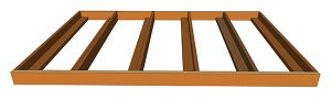 wall bed inner bed frame graphic