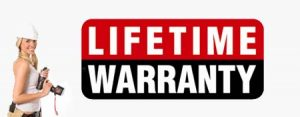 lifetime warranty for wall bed parts logo