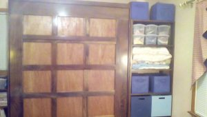 wallbed made out of wood chips ideas