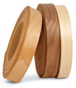 Wood color edging banding